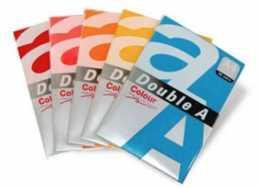 Папір A4 Colour, 80г/м2,DOUBLE A, 25арк.,вишневий,3230