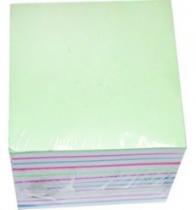 Папір кубик 85/85/500л кольоровий не клеєний,IMAGO