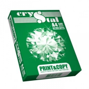 Папiр A4 CRYSTAL PRINT & COPY 75г/м2, 500л.