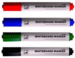 Набір з 4 маркерів для сухостираючих дошок,Buromax