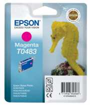Заправка картриджа EPSON Stylus Photo R200 Magenta (T0483)
